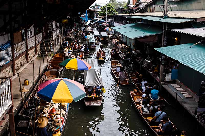 Most popular places in bangkok thailand
