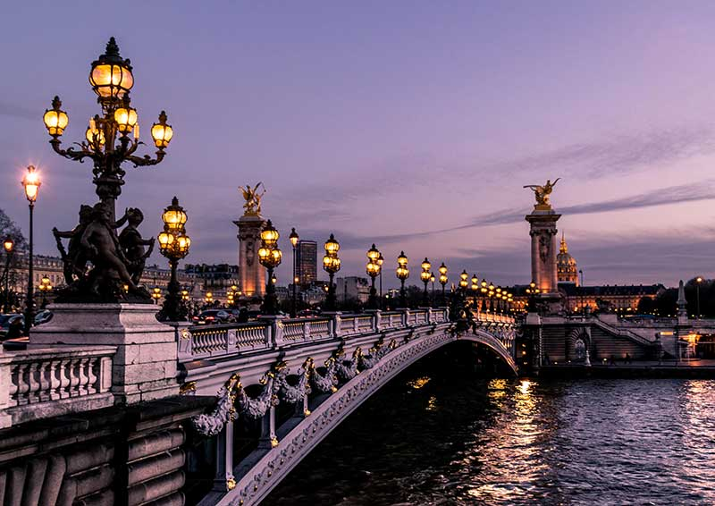 most beautiful bridge in paris france