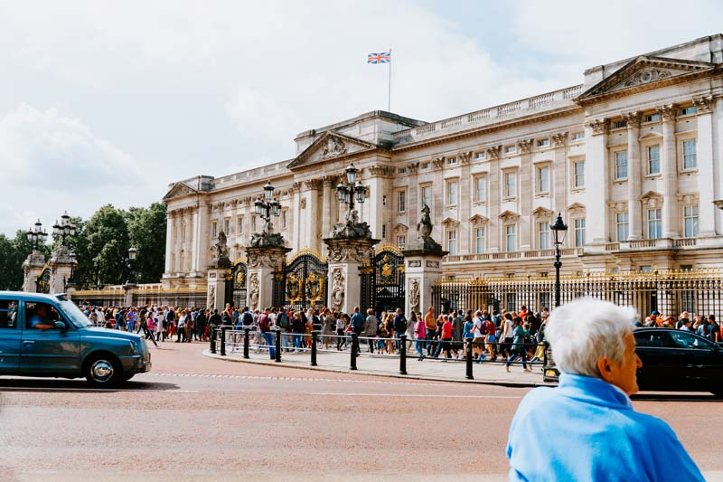 Buckingham Palace amazing place to visit