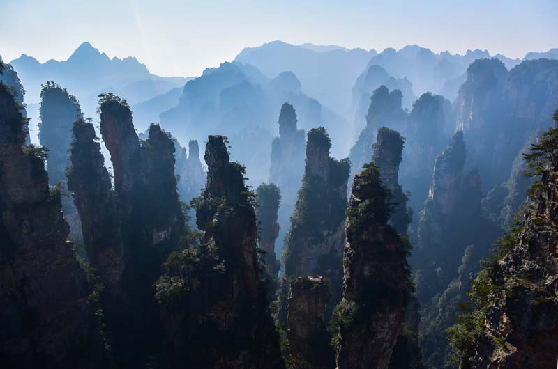 best looking mountain in china, amazing place for tourist in china