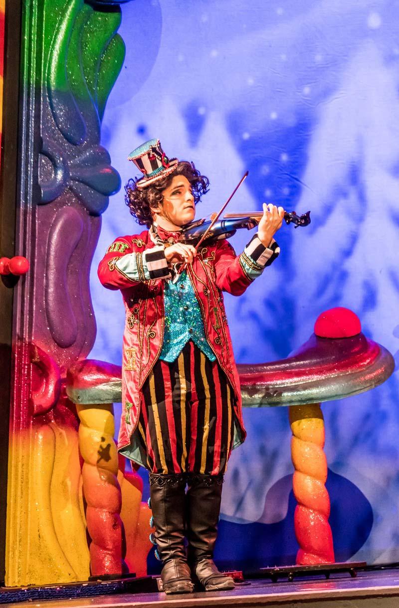 clown at cirque du soleil