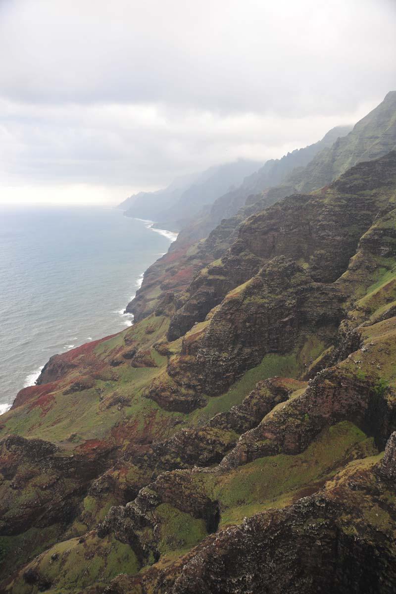 great looking mountain in kauai hawaii