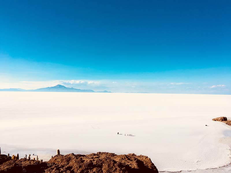 white sand country, most special desert in the world