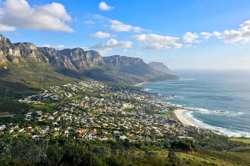 south africa beauty, cape town near the water