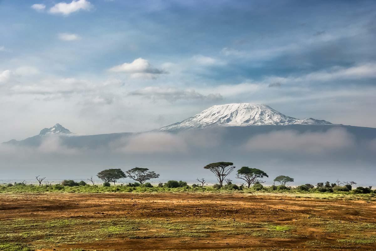 amazing view in kenya africa